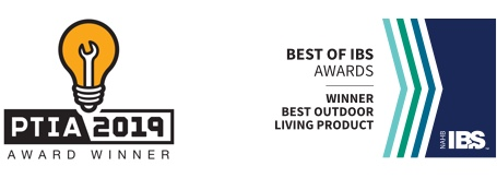 CAMO won 2019 Pro Tool Innovation Award and 2019 Best Outdoor Living Product at IBS